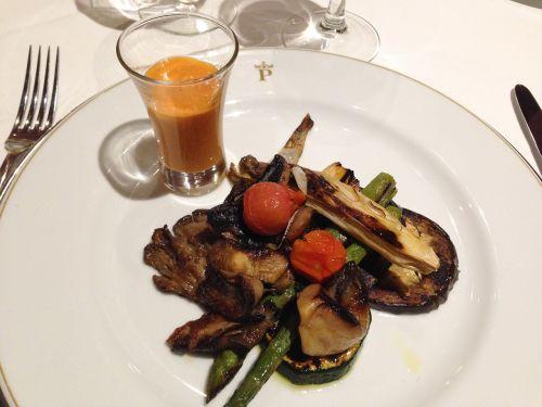 vegetables grilled eggplant