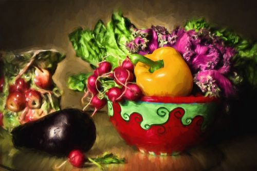 vegetables still-life healthy