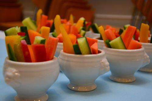 vegetables starter frisch