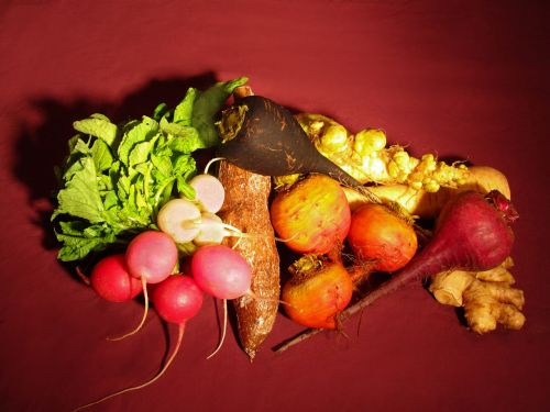 vegetables beets fresh