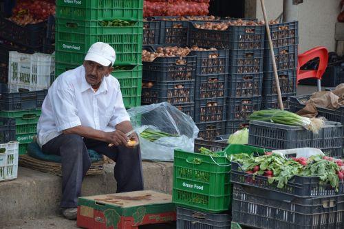 vegetables market dealer