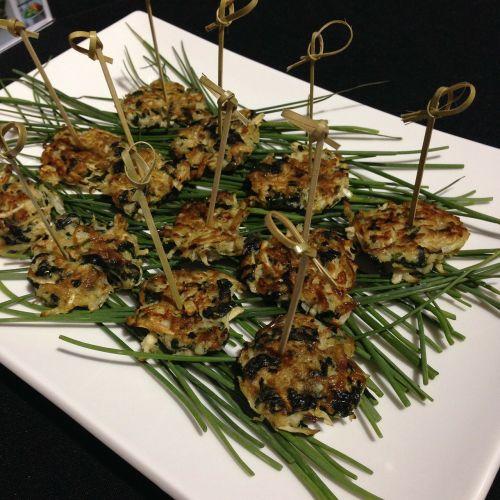 vegetarian foods patties