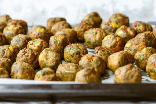 veggie ball balls vegetarian
