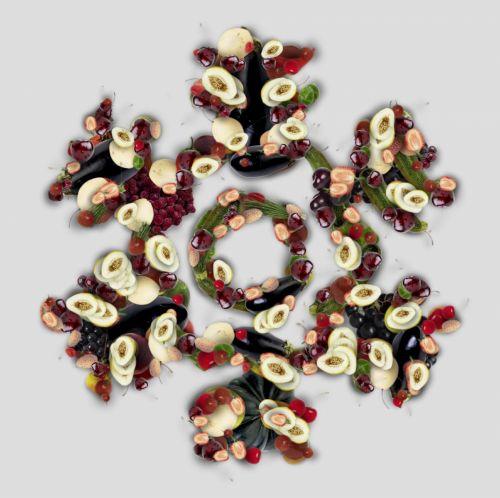 Veggie Snowflake