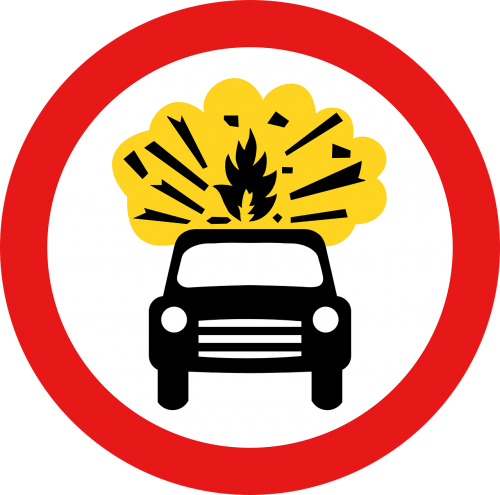 vehicle car explosive