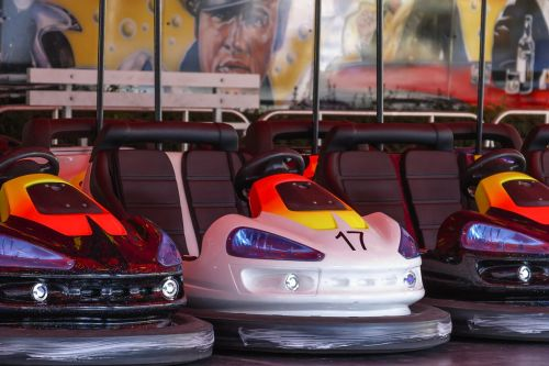 vehicle machine bumper cars