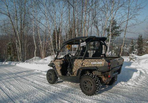 vehicle track snow