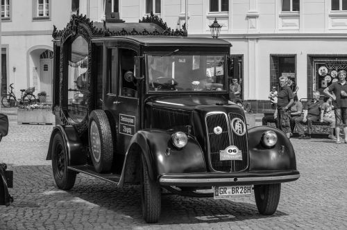 vehicle auto hearse