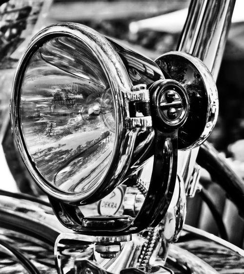vehicle chrome spotlight