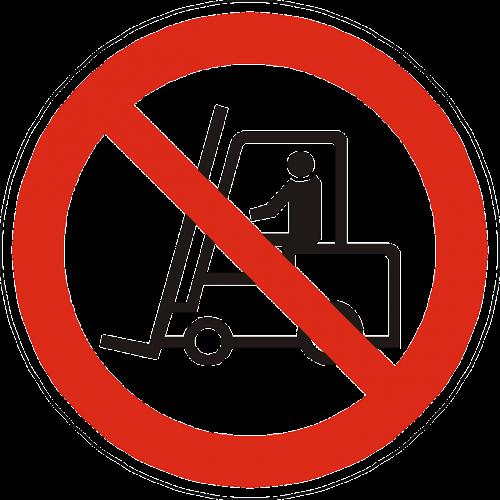 vehicle handling prohibited forbidden