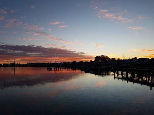 velddrif,south africa,sunrise