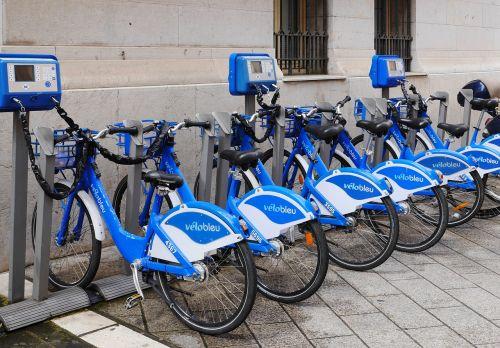 velo bleu rental bikes rental station