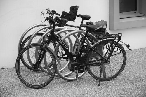 Bikes On The Sidewalk