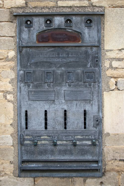 vending machine ancient disused