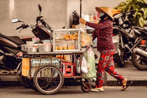 vendor  street  food
