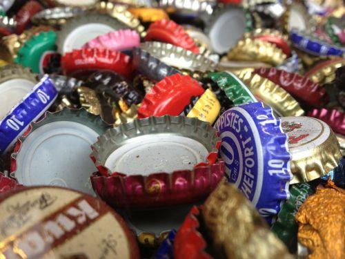 veneers bottle bottle caps