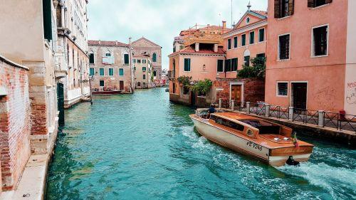 venetian italy boat