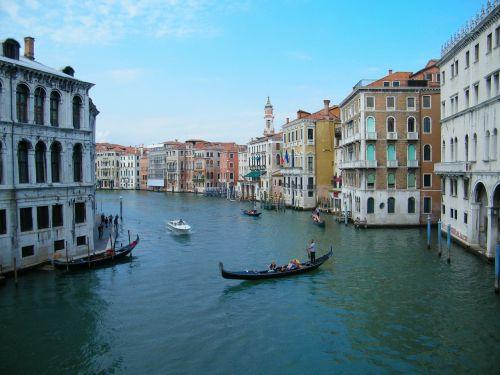 venice canal venezia