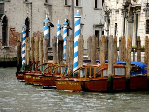 venice channel boats