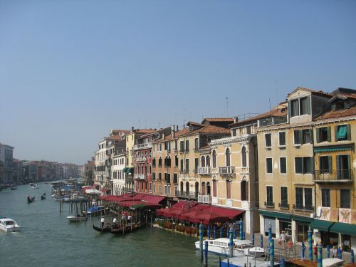 venice waterways tourism
