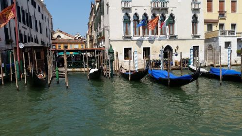 venice canals italy
