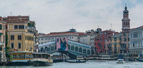 venice italy rialto bridge