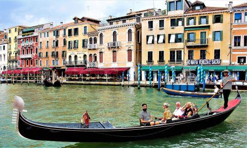 venice channel gondola