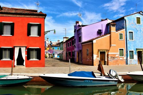 venice burano channel