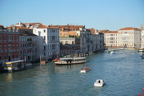 venice  grand canal  canal