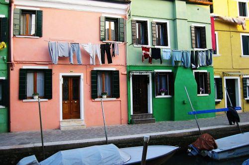 venice houses italy