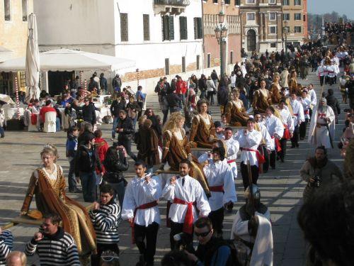 venice italy parade