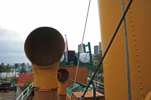 Ventilation Shaft On Old Tugboat
