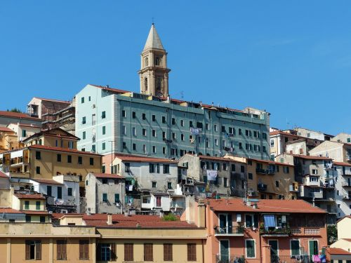 ventimiglia old town roofs