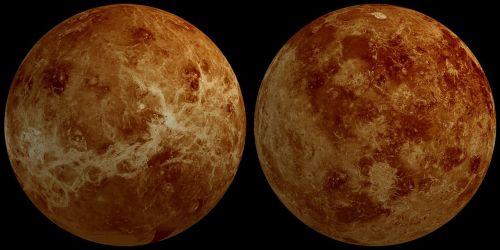 venus planet hemisphere