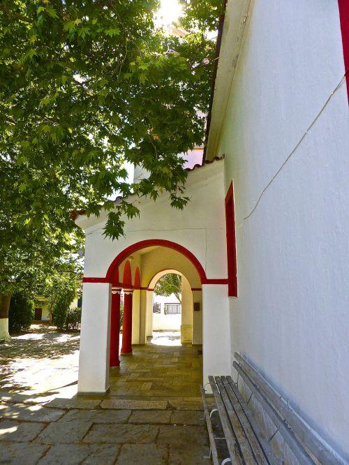 veranda archway annex