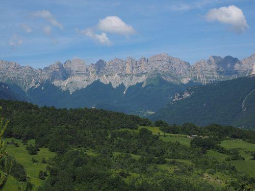 vercors mountain range mountains