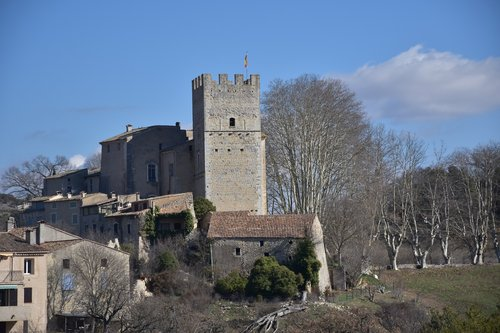 verdon  castle  chateau