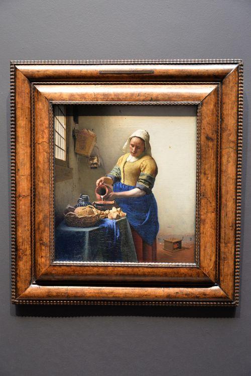 vermeer dairy painting