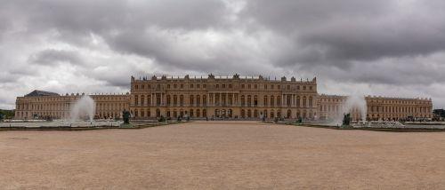 versailles palace panorama france