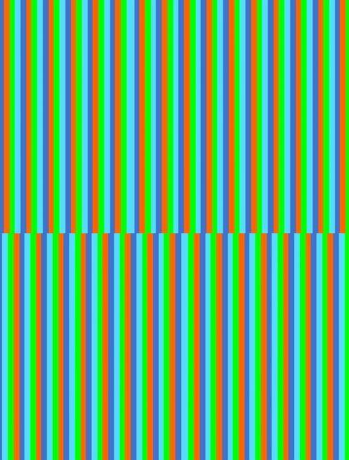 vertical lines narrow