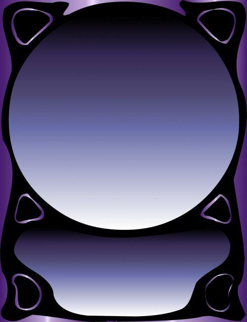 vertikalus, rėmas, violetinė, juoda, gradientas, spalvos, fonas, vertikalus rėmas