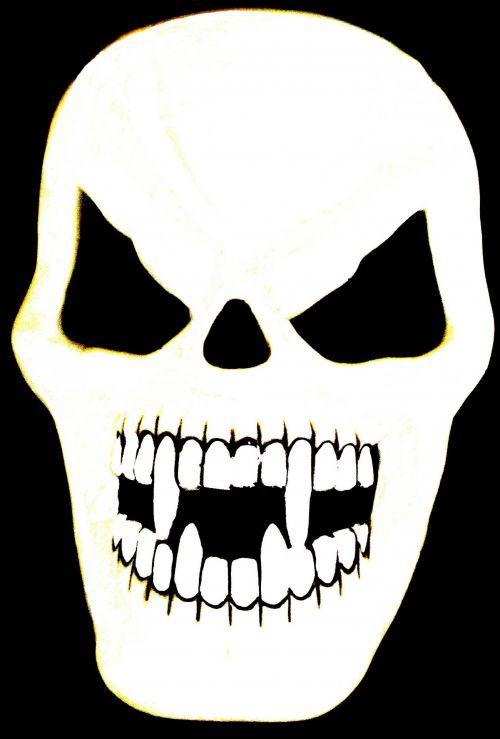 Very Scary Skull