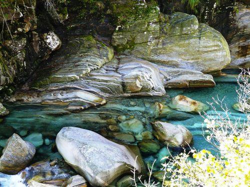 verzasca river water