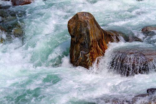 verzasca water and stone switzerland