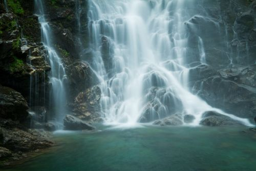 verzasca waterfall water and stone