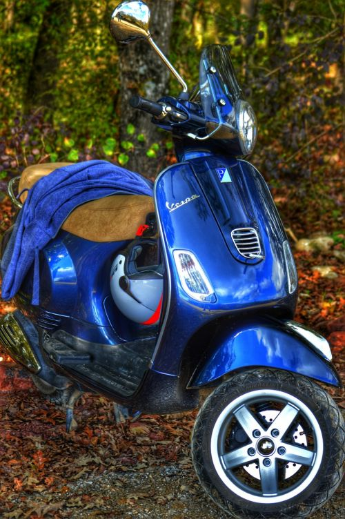 moped vespa lx150