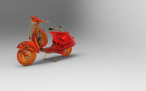vespa,legenda,motoroleris,ispanų,kultas,Piaggio,dalis,retro,3d modelis