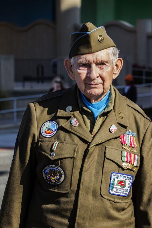 Veteran Of Battle Of The Bulge