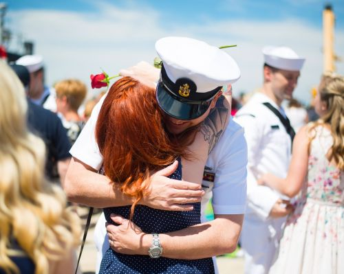 veterans navy deployment