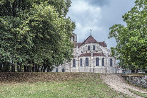 vézelay,bažnyčia,Burgundija